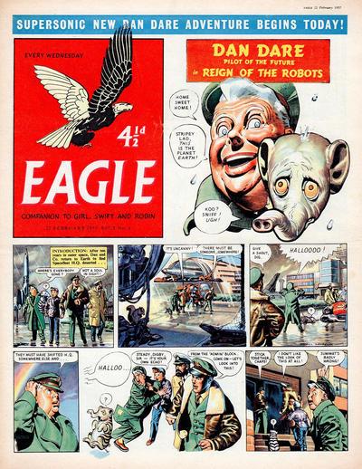 Cover for Eagle (Hulton Press, 1950 series) #v8#8