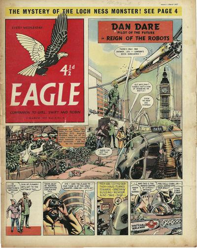 Cover for Eagle (Hulton Press, 1950 series) #v8#9