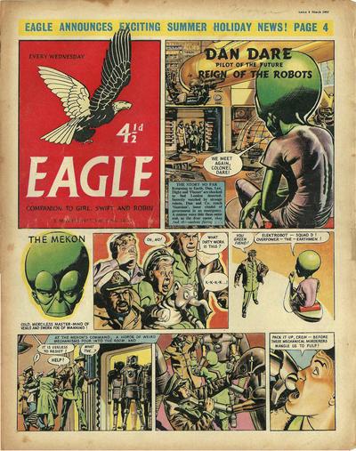 Cover for Eagle (Hulton Press, 1950 series) #v8#10