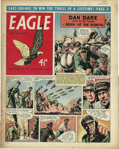Cover for Eagle (Hulton Press, 1950 series) #v8#15