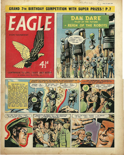 Cover for Eagle (Hulton Press, 1950 series) #v8#16