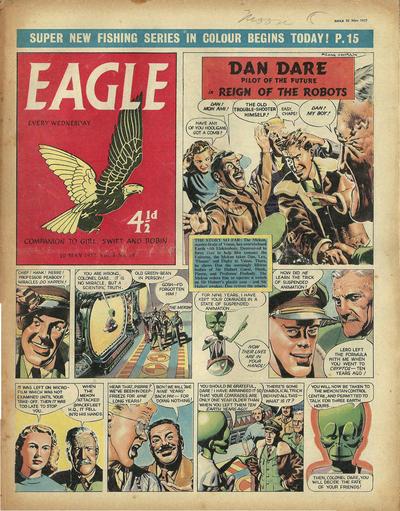 Cover for Eagle (Hulton Press, 1950 series) #v8#19