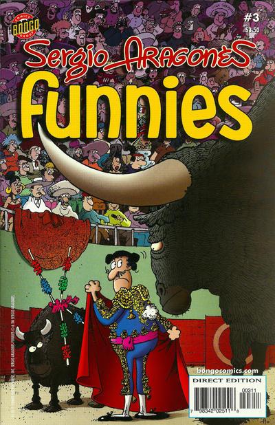 Cover for Sergio Aragonés Funnies (Bongo, 2011 series) #3