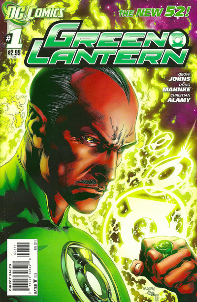 Cover for Green Lantern (DC, 2011 series) #1 [Ivan Reis Sketch Cover]