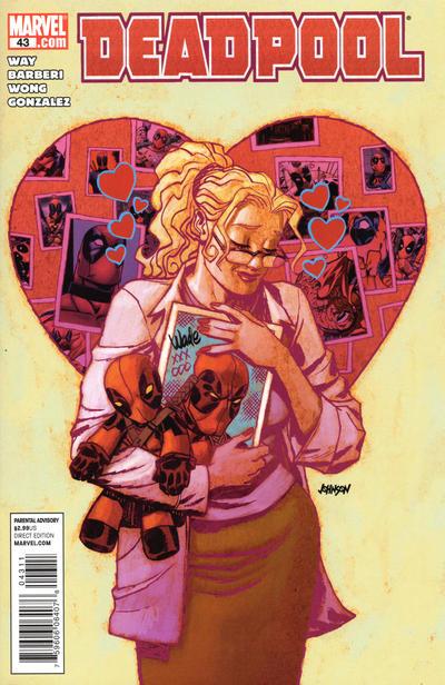 Cover for Deadpool (Marvel, 2008 series) #43