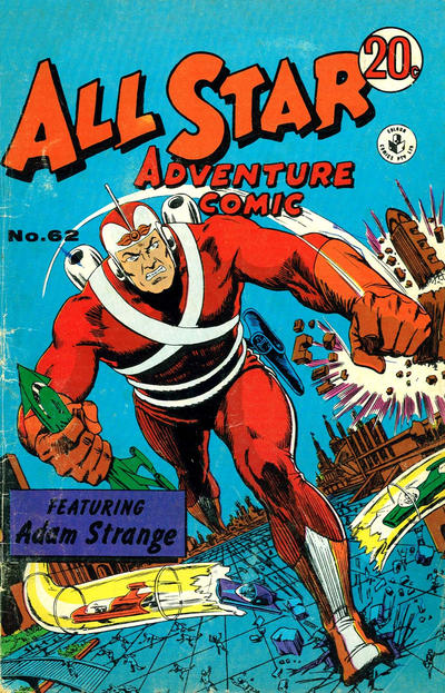 Cover for All Star Adventure Comic (K. G. Murray, 1959 series) #62