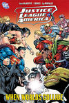 Cover for Justice League of America (DC, 2007 series) #6 - When Worlds Collide