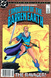 Cover for Conqueror of the Barren Earth (DC, 1985 series) #1 [Newsstand]