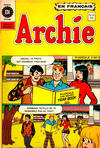 Cover for Archie (Editions Héritage, 1971 series) #41
