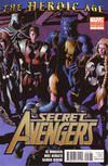 Cover for Secret Avengers (Marvel, 2010 series) #1 [Second Printing Variant Cover]