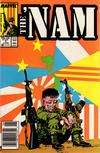 Cover for The 'Nam (Marvel, 1986 series) #7 [Newsstand]