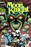Cover for Moon Knight (Marvel, 1985 series) #3 [Newsstand]