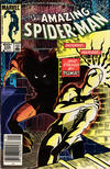 Cover Thumbnail for The Amazing Spider-Man (1963 series) #256 [Newsstand Edition]