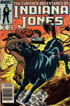 Cover for The Further Adventures of Indiana Jones (Marvel, 1983 series) #12 [Newsstand]