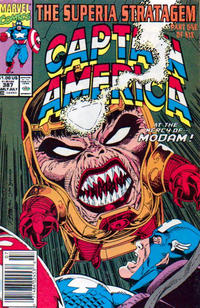 Cover Thumbnail for Captain America (Marvel, 1968 series) #387 [Newsstand]