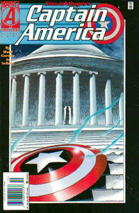 Cover Thumbnail for Captain America (Marvel, 1968 series) #444 [Newsstand]