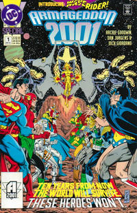 Cover Thumbnail for Armageddon 2001 (DC, 1991 series) #1 [Direct]