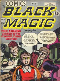 Cover Thumbnail for Black Magic Comics (Arnold Book Company, 1952 series) #5