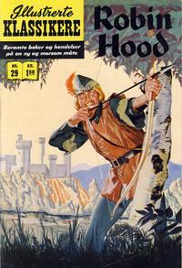 Cover Thumbnail for Illustrerte Klassikere [Classics Illustrated] (Illustrerte Klassikere / Williams Forlag, 1957 series) #29 - Robin Hood [1. opplag]