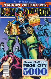 Cover Thumbnail for Dommer Dredd (Bladkompaniet / Schibsted, 1991 series) #4/1991