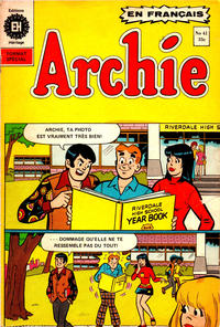 Cover Thumbnail for Archie (Editions Héritage, 1971 series) #41