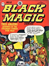 Cover Thumbnail for Black Magic Comics (Arnold Book Company, 1952 series) #8
