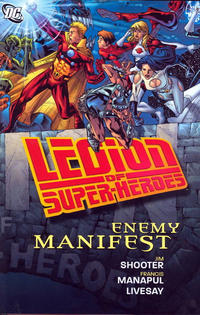 Cover Thumbnail for Legion of Super-Heroes: Enemy Manifest (DC, 2010 series)