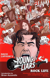 Cover Thumbnail for Young Liars: Rock Life (DC, 2010 series)