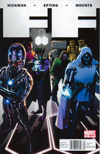 Cover Thumbnail for FF (Marvel, 2011 series) #8 [Newsstand]