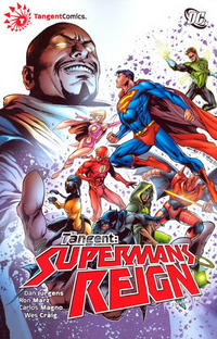 Cover Thumbnail for Tangent: Superman's Reign (DC, 2009 series) #2
