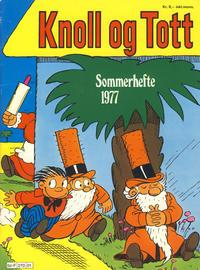 Cover Thumbnail for Knoll og Tott [Knold og Tot] (Hjemmet / Egmont, 1911 series) #sommer 1977