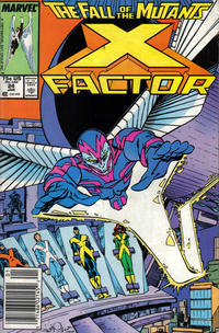 Cover Thumbnail for X-Factor (Marvel, 1986 series) #24 [Newsstand Edition]