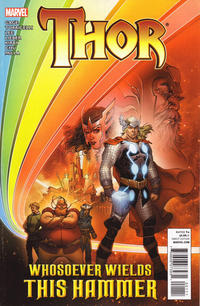 Cover Thumbnail for Thor: Whosoever Wields This Hammer (Marvel, 2011 series) #1