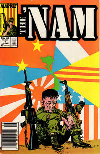 Cover for The 'Nam (Marvel, 1986 series) #7 [Newsstand Edition]