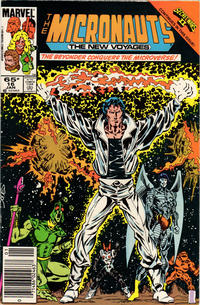 Cover Thumbnail for Micronauts (Marvel, 1984 series) #16 [Newsstand]