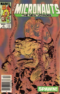 Cover Thumbnail for Micronauts (Marvel, 1984 series) #3 [Newsstand]