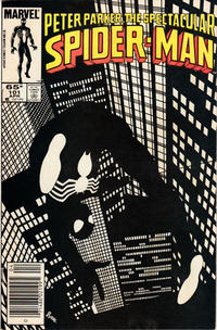 Cover Thumbnail for The Spectacular Spider-Man (Marvel, 1976 series) #101 [Newsstand Edition]