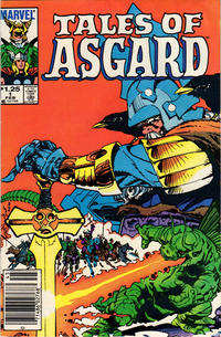 Cover Thumbnail for Tales of Asgard (Marvel, 1984 series) #1 [Newsstand]