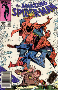 Cover for The Amazing Spider-Man (Marvel, 1963 series) #260 [Direct Edition]