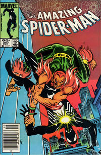 Cover Thumbnail for The Amazing Spider-Man (Marvel, 1963 series) #257 [Newsstand]
