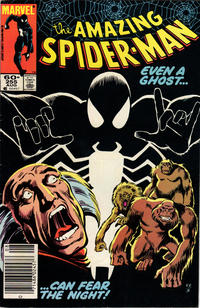 Cover Thumbnail for The Amazing Spider-Man (Marvel, 1963 series) #255 [Newsstand Edition]