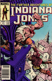 Cover Thumbnail for The Further Adventures of Indiana Jones (Marvel, 1983 series) #11 [Newsstand]