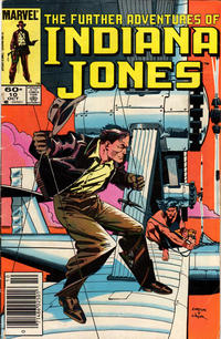Cover Thumbnail for The Further Adventures of Indiana Jones (Marvel, 1983 series) #10 [Newsstand]