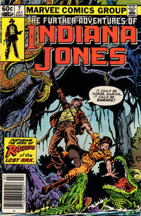 Cover Thumbnail for The Further Adventures of Indiana Jones (Marvel, 1983 series) #7 [Newsstand]