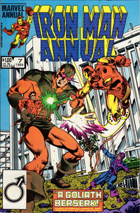 Cover Thumbnail for Iron Man Annual (Marvel, 1976 series) #7 [Direct]