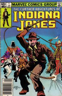 Cover Thumbnail for The Further Adventures of Indiana Jones (Marvel, 1983 series) #1 [Newsstand]