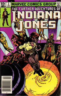 Cover Thumbnail for The Further Adventures of Indiana Jones (Marvel, 1983 series) #2 [Newsstand]