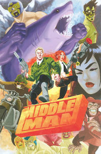 Cover Thumbnail for The Middleman: The Collected Series Indispensability! (Viper, 2008 series)
