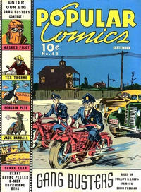 Cover Thumbnail for Popular Comics (Dell, 1936 series) #43