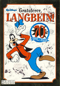 Cover Thumbnail for Gratulerer, Langbein! (Hjemmet / Egmont, 2002 series)